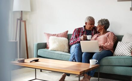 senior couple planning their retirement income